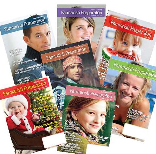"""Magazine """"Farmacisti Preparatori"""""""